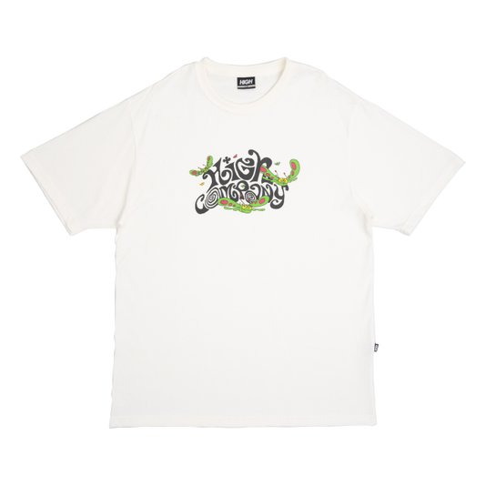 Camiseta Masculina High Groove Tee Manga Curta Estampada - Branco