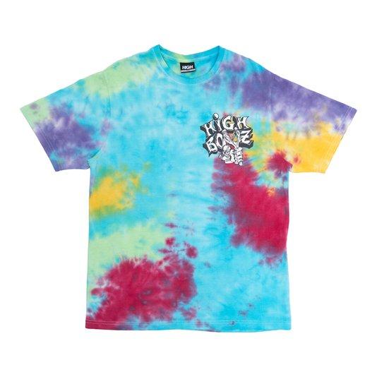Camiseta Masculina High Slingshot Tee Manga Curta Estampada - Tie Dye