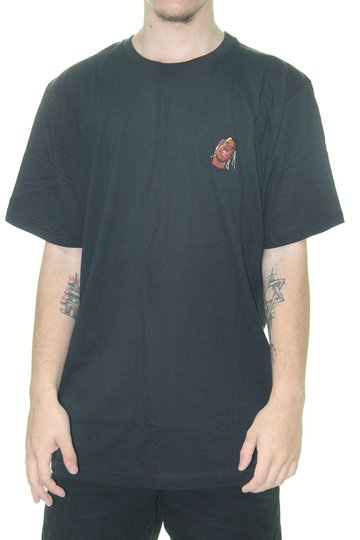 Camiseta Masculina Other Culture Travis Tee Manga Curta - Preto