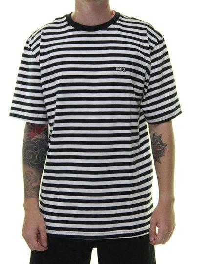Camiseta Masculina Wats Listra Force Manga Curta - Branco/Cinza