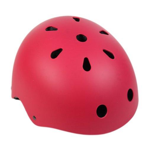 Capacete Hondar Ajustável com Led - Vermelho