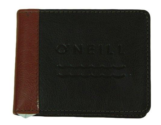 Carteira Oneill Cut Up Couro Sintético Brown - Marrom