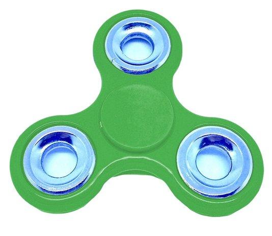 Hand Spinner Rolamento Anti Estresse Fidget Hand Spinner - Verde