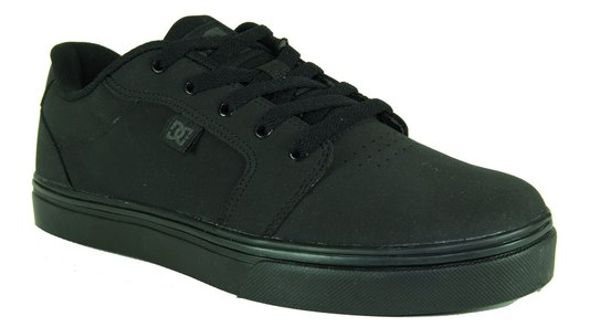 Tenis Feminino Dc Shoes Anvil II - Black/Black