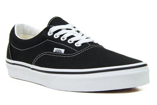 Tênis Masculino Vans Era - Black/White