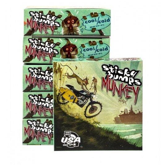 Parafina Stick Bumps Monkey Cool - (Água Fria)