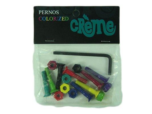 Parafuso Para Base Creme Coloridos Chave Allen - Sortida