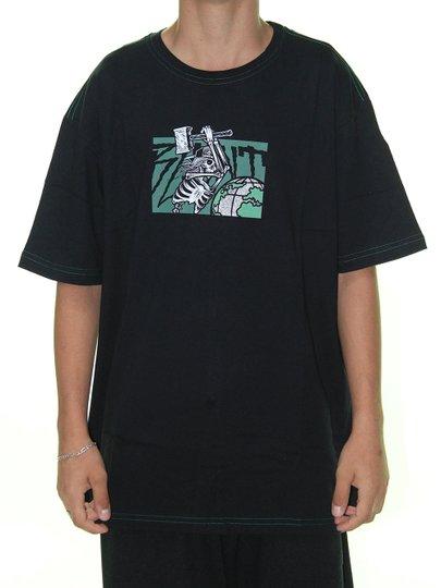 Camiseta Masculina Blunt Especial Destroy Manga Curta - Preto