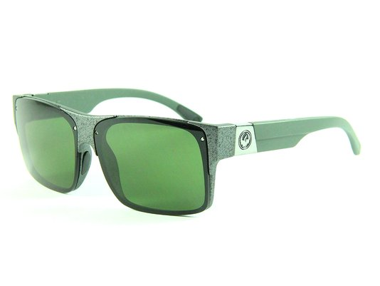 Óculos Dragon Hyde Green Lenses - Gunmetal Marble