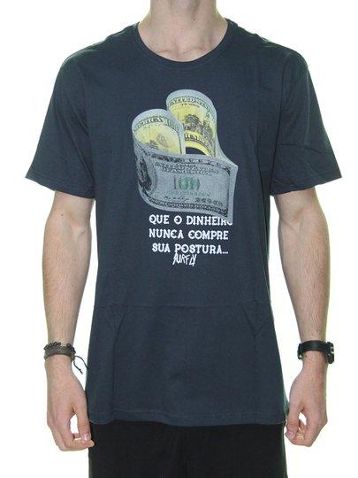 Camiseta Masculina Surfly Dolar Manga Curta - Marinho