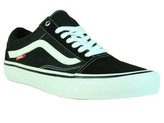 Tênis Feminino Vans Old Skool Pro - Black/White