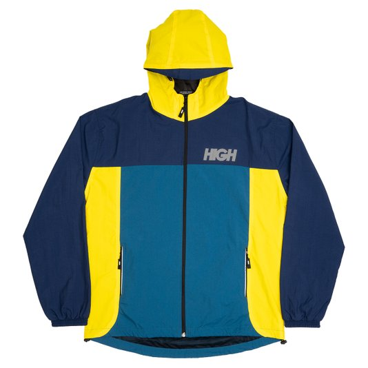 Jaqueta Masculina High Rain Jacket Reflexiva - Marinho/Amarelo