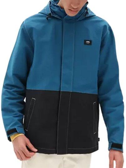 Jaqueta Masculina Vans Quebra Vento Moroccan - Azul/preto