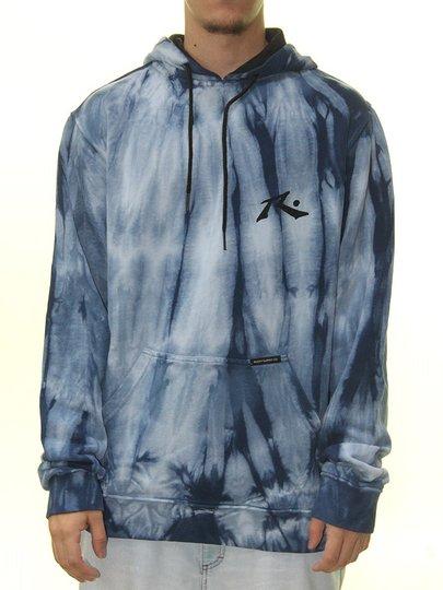 Moletom Masculino Rusty Dayzed - Azul/Tie Dye