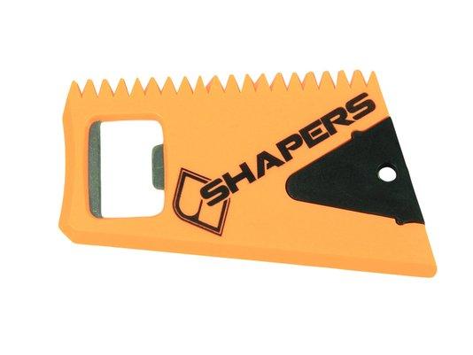 Raspador Shaper Fins com Chave de Quilha - Laranja