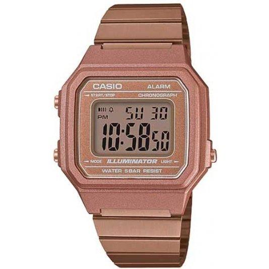 Relógio Casio Vintage B650WC-5ADF Digital - Bronze