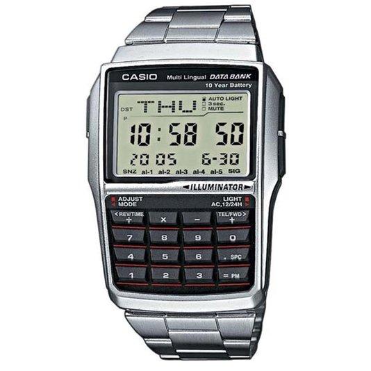 Relógio Casio Vintage DBC-32D-1ADF Digital - Prata