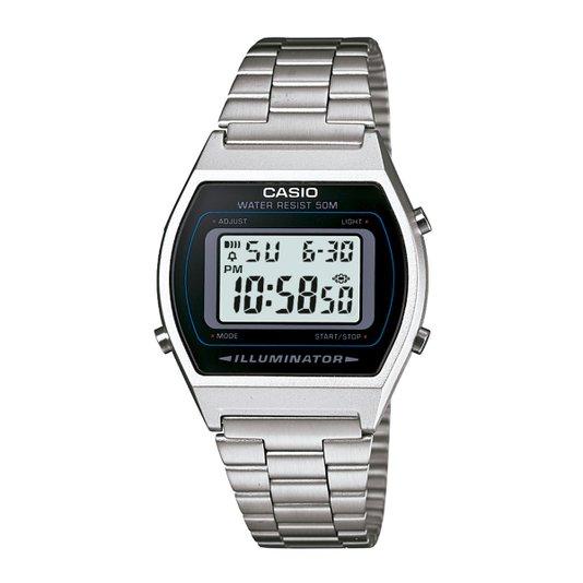 Relógio Casio Vintage Unisex Prata B640WD-1AVDF