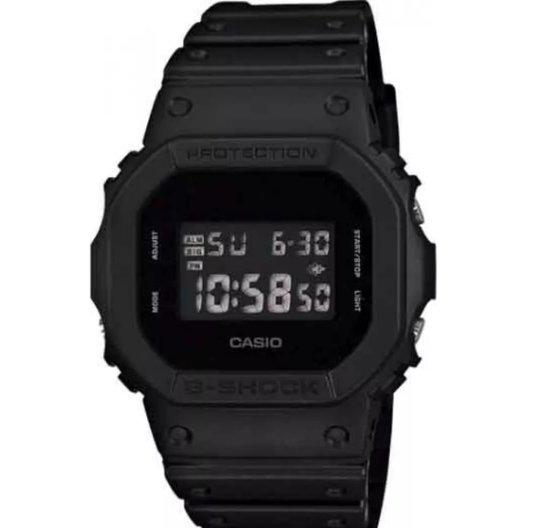 RElógio G-Shock DW-5600BB-1DR Digital - Preto Fosco