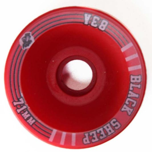 Roda Longboard Blacksheep Long 71mm 83A - Vermelho