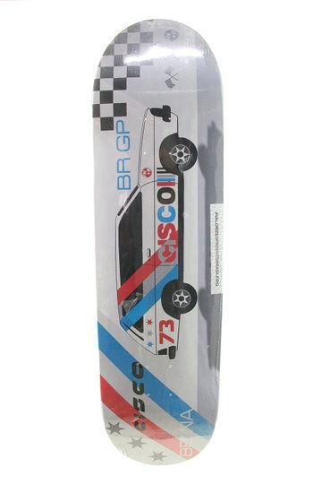 Shape Skateboard Cisco FN+R Belina 8,25 - Cinza/Azul