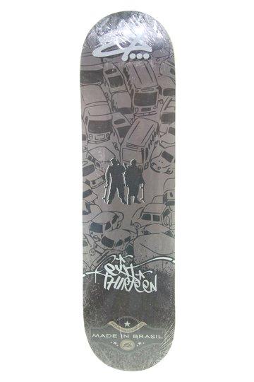 Shape Skateboard Ex13ny Cars 8'0 - Marrom
