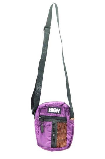 Shoulder Bag High Side Block - Roxo/Laranja