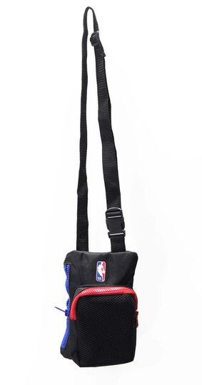 Shoulder Bag NBA Logoman - Preto