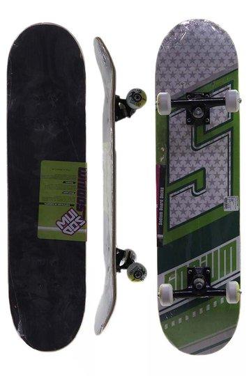 Skate Sodium Iniciante - Verde/Branco
