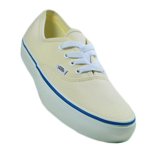 Tênis Feminino Vans Authentic - Cream/White