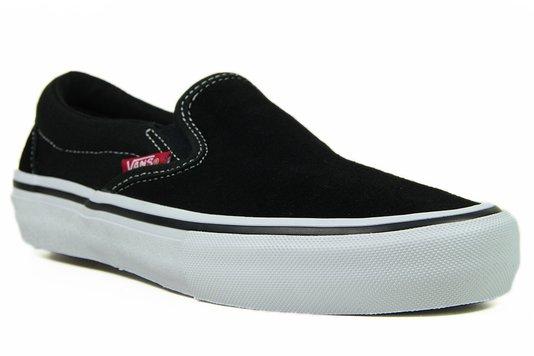 Tênis Feminino Vans Classic Slip On Pro - Black/White/Gum