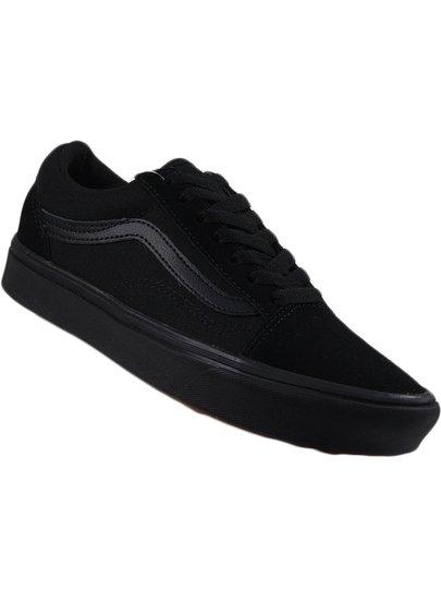 Tênis Feminino Vans Old Skool Comfycush - Black/Black