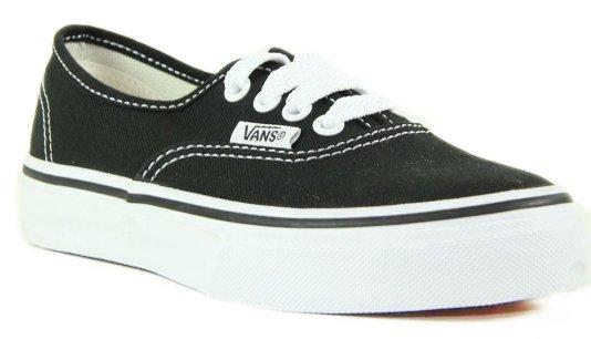 Tênis Infantil Vans Authentic - Black
