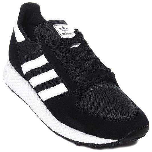 Tênis Masculino Adidas Forest Grove - Black White