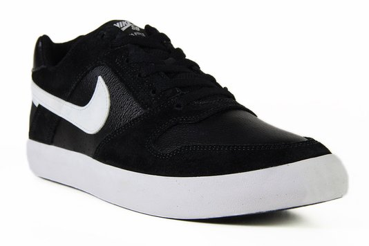 Tênis Masculino Nike SB Delta Force Vulc - Black/White