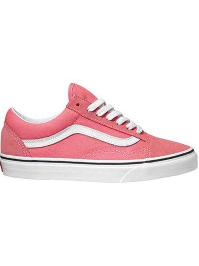 Tênis Vans Feminino Old Skool - Strawberry Pink/True White