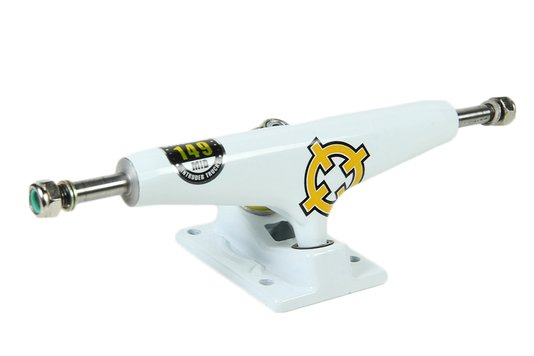 Truck Skateboard Intruder Pro Series Mid - White