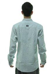 Camisa Masculina Lost Botone Manga longa - Gelo