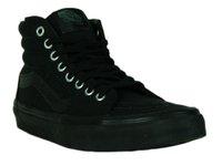 dee2d116427c6 Tênis Feminino Vans Sk8 Hi Mono Cano Longo - Black Black