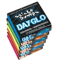 PARAFINA STICK BUMPS DAY GLO WARM TROPICAL (AGUA QUENTE) - 4 CORES