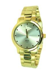 50e2f0cb5fe Relógio Mormaii MO2035GN Analógico - Dourado