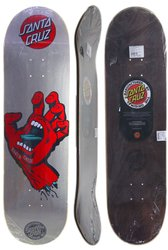 Shape Santa Cruz Powerlyte Screaming Hand - Prata/Vermelho