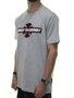 Camiseta Masculina Independent Build To Grind Manga Curta - Cinza Mesclado