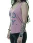 Regata Feminina Roxy Nice Palm Estampada - Rosa