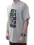 Camiseta Masculina Thrasher Use Estampada Manga Curta - Cinza Mesclado