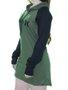 Vestido Feminino Hurley One & Only Manga longa - Verde/Preto