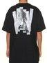 Camiseta Masculina Blunt Queen Displacement Manga Curta - Preto