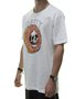Camiseta Masculina Surfly Rosquinha Manga Curta - Branco