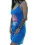 Vestido Feminino Green Mind Summer Estampado - Azul