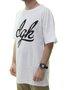 Camiseta Masculina DGK Script Estampada Manga Curta - Preto